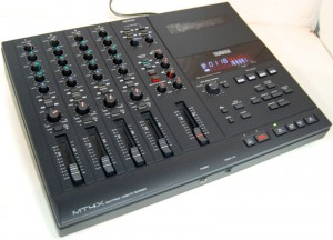 Yamaha Mixer With Cassette Recorder